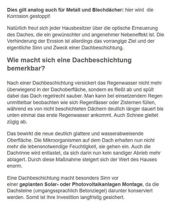 Dachbeschichtung Infos für 44135 Dortmund