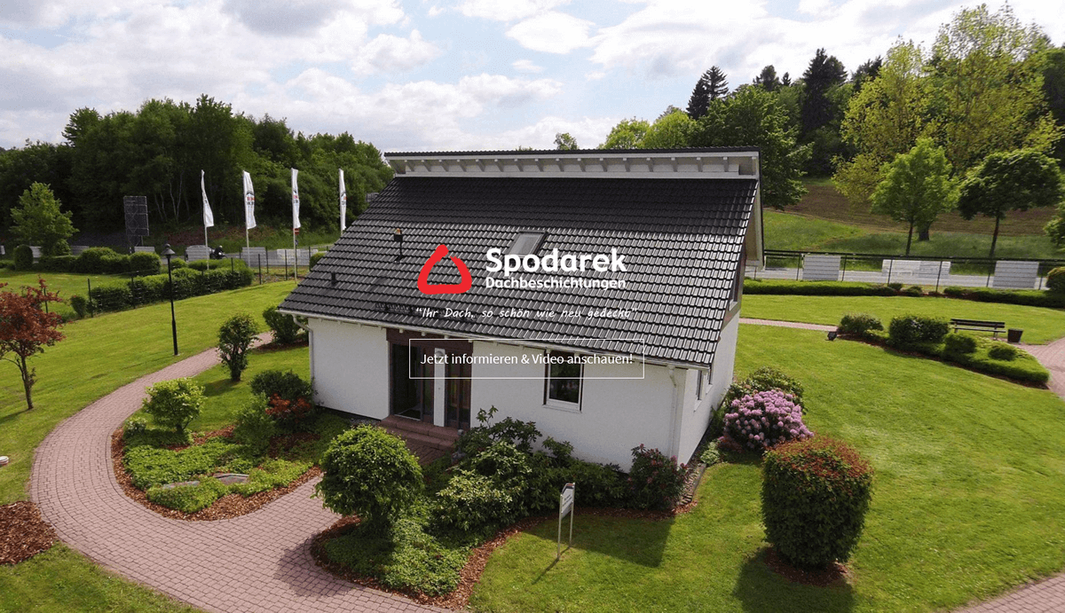 Dachbeschichtungen Aalen - Spodarek: Dachdecker Alternative, Dachreinigung, Dachsanierungen