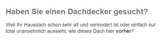Dachdecker / Zimmerei für  Dortmund
