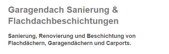 Garagendach Sanierungen für 44135 Dortmund, Witten, Lünen, Waltrop, Herdecke, Wetter (Ruhr), Kamen und Schwerte (Hansestadt an der Ruhr), Castrop-Rauxel, Holzwickede