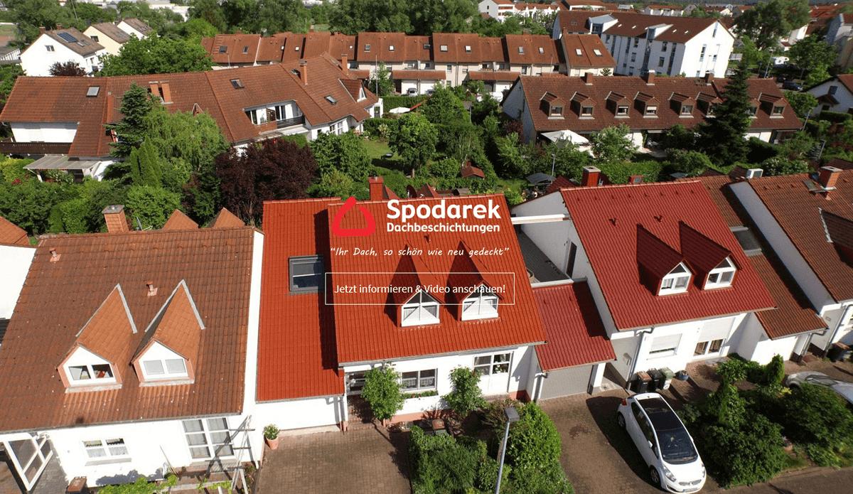 Dachbeschichtung für Freiburg (Breisgau) - Spodarek: Dachdecker Alternative, Dachreinigungen, Dachsanierung