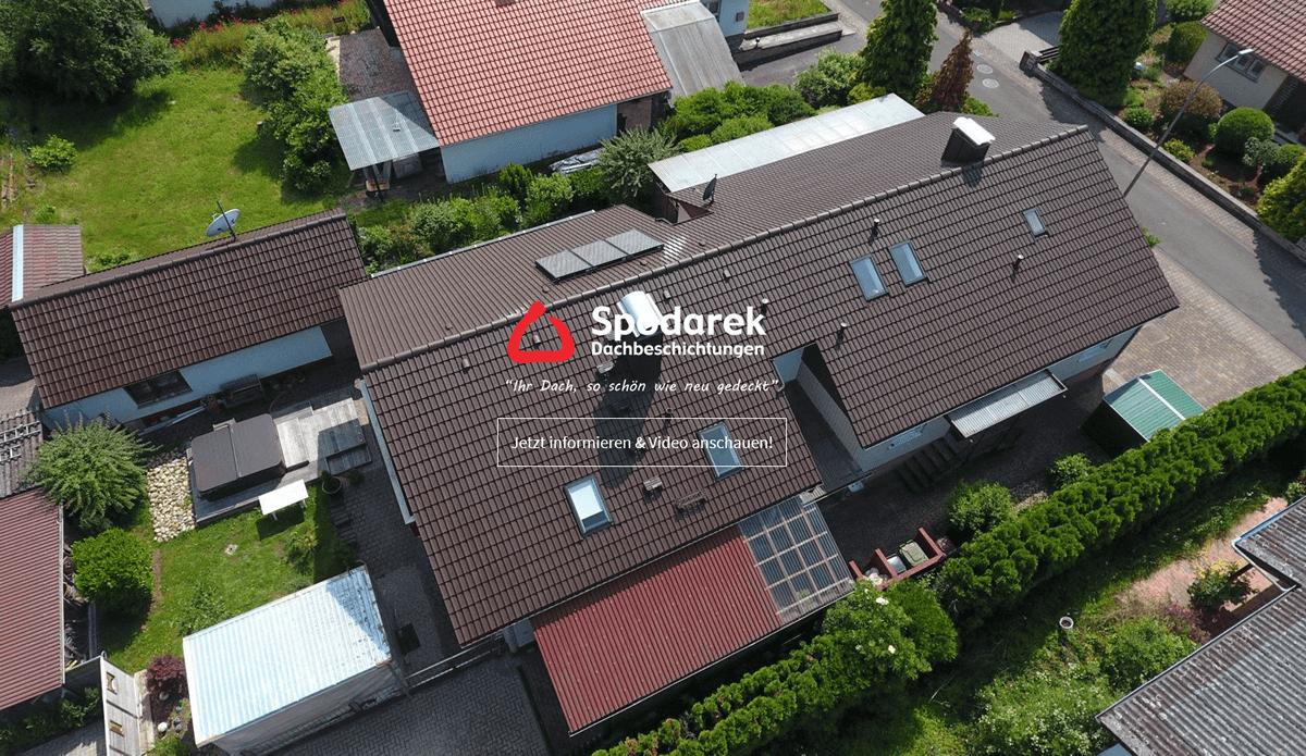 Dachbeschichtungen Karlsruhe - Spodarek: Dachdecker Alternative, Dachsanierung, Dachreinigungen